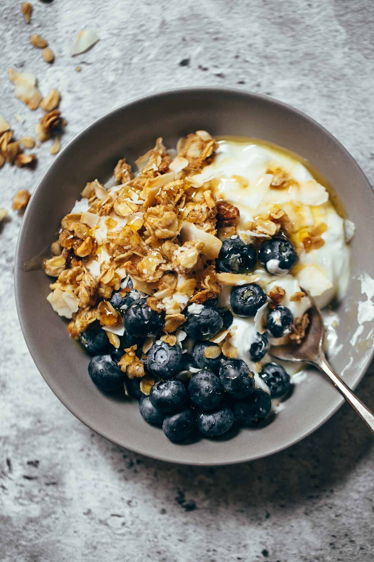 Coconut pecan cabin granola receta desayuno comida y granola coconut pecan cabin granola forumfinder Choice Image