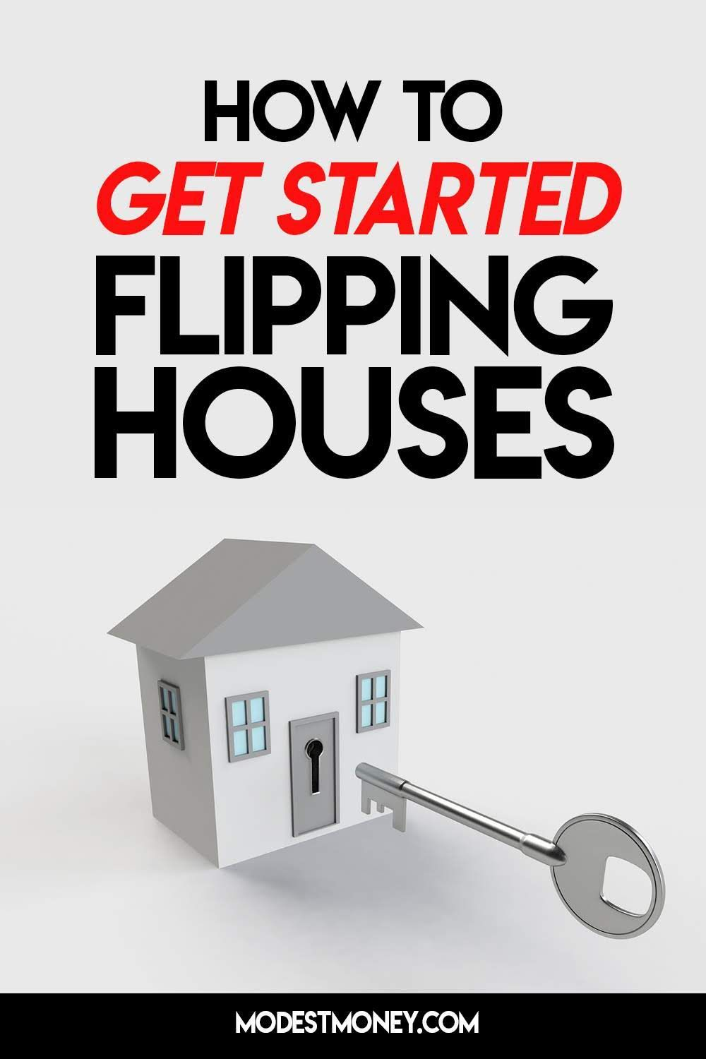 How to get started flipping houses  #realestate #makemoney #makingmoney #renovation #homeimprovement . #flippinghouses