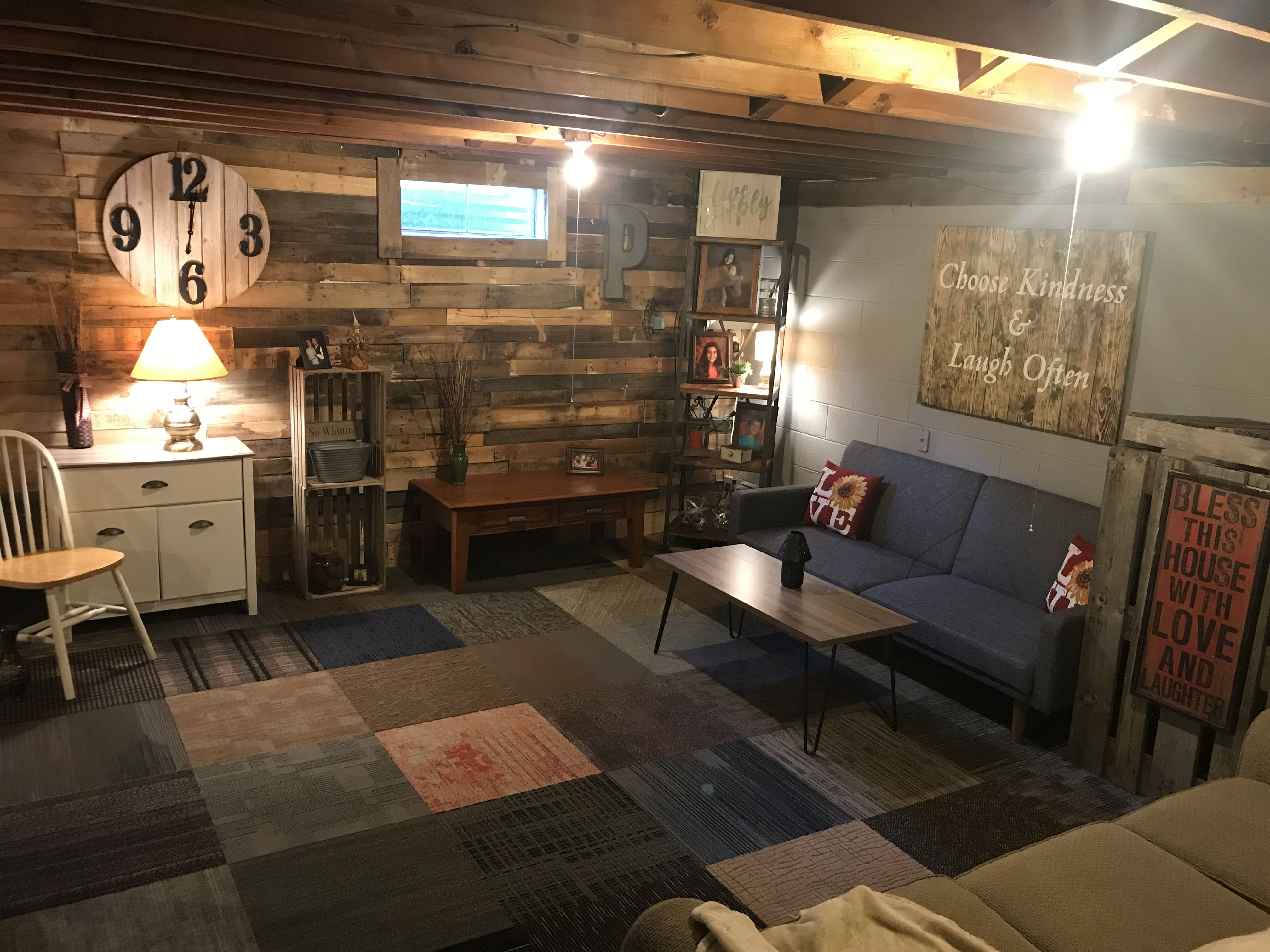 Great 5 DIY Ideas For Unfinished Basement