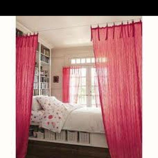 I like the curtains! Cute!