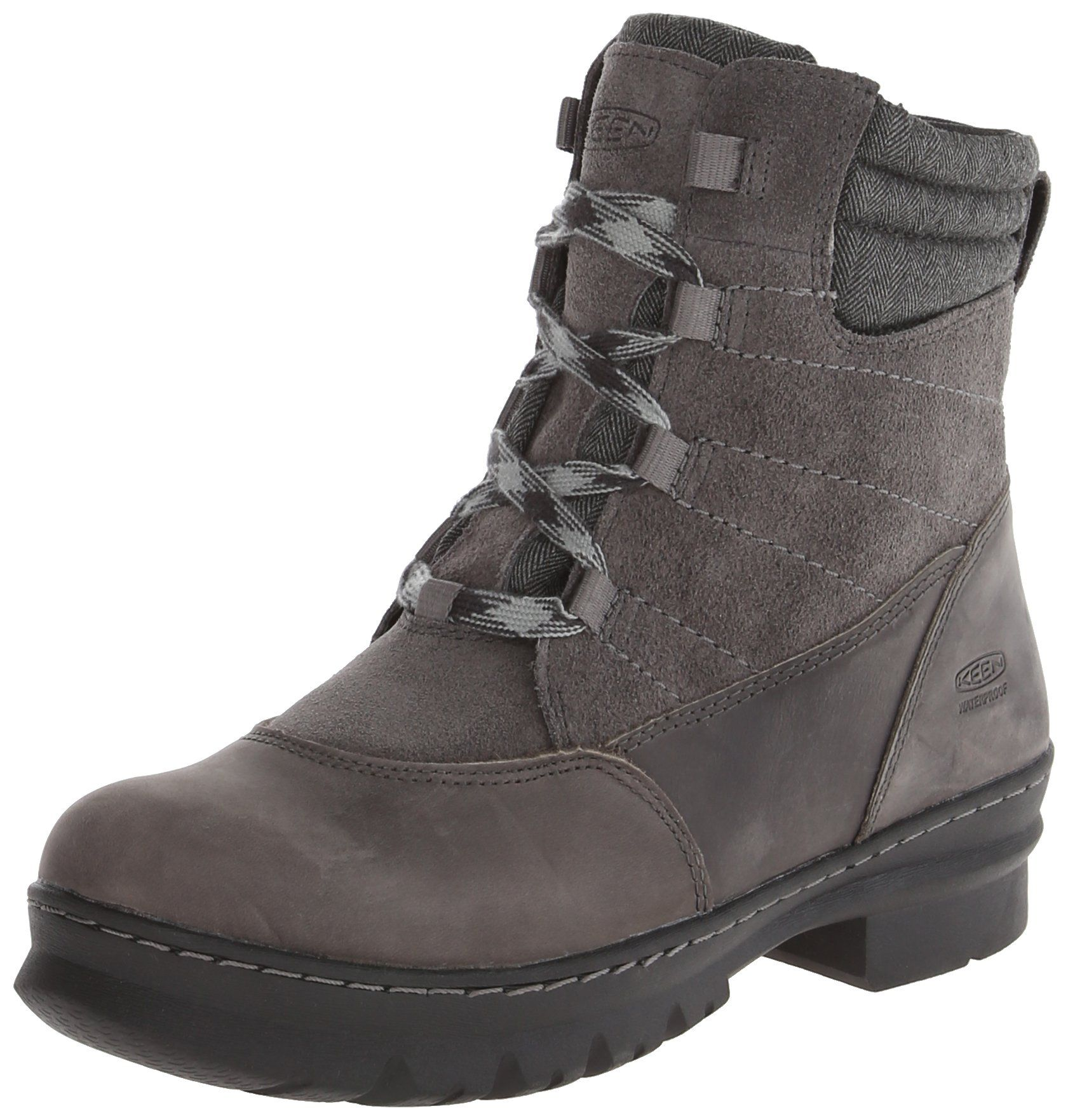 Keen Womens Mid Boots Wapato Wp Magnet