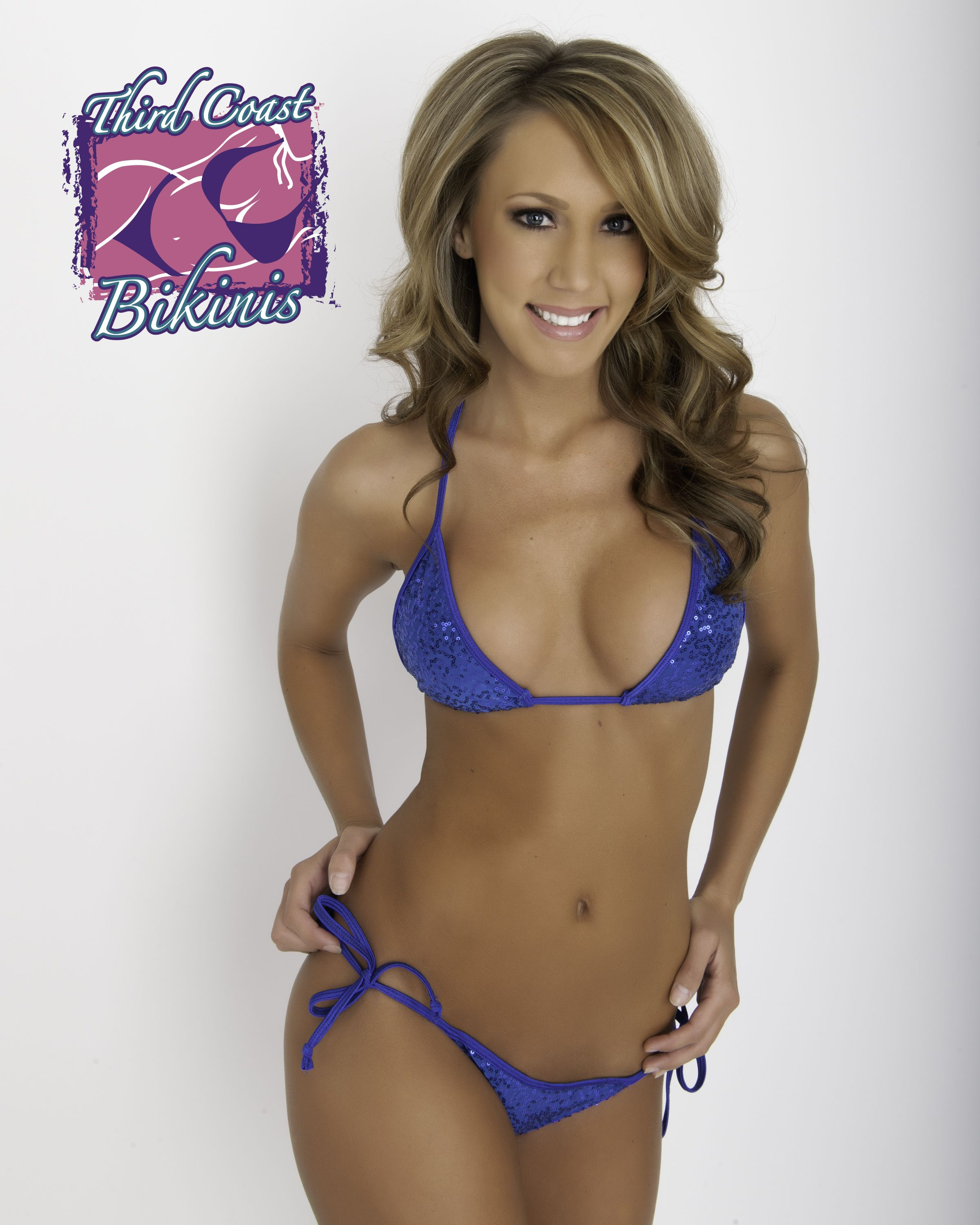 16b503d404 Royal Blue Sequin Bikini