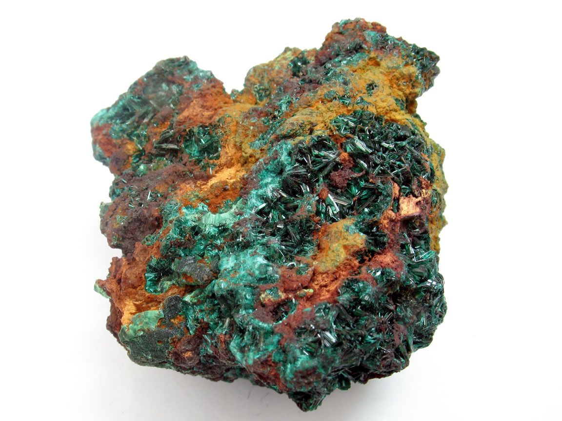 Brochantite - Goulmina, El Rachidia, Morocco.