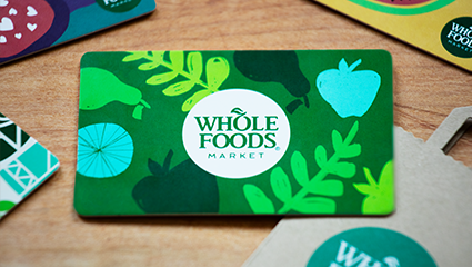 Whole Foods Gift Card Whole Foods Gift Card Whole Food Recipes Whole Foods Market