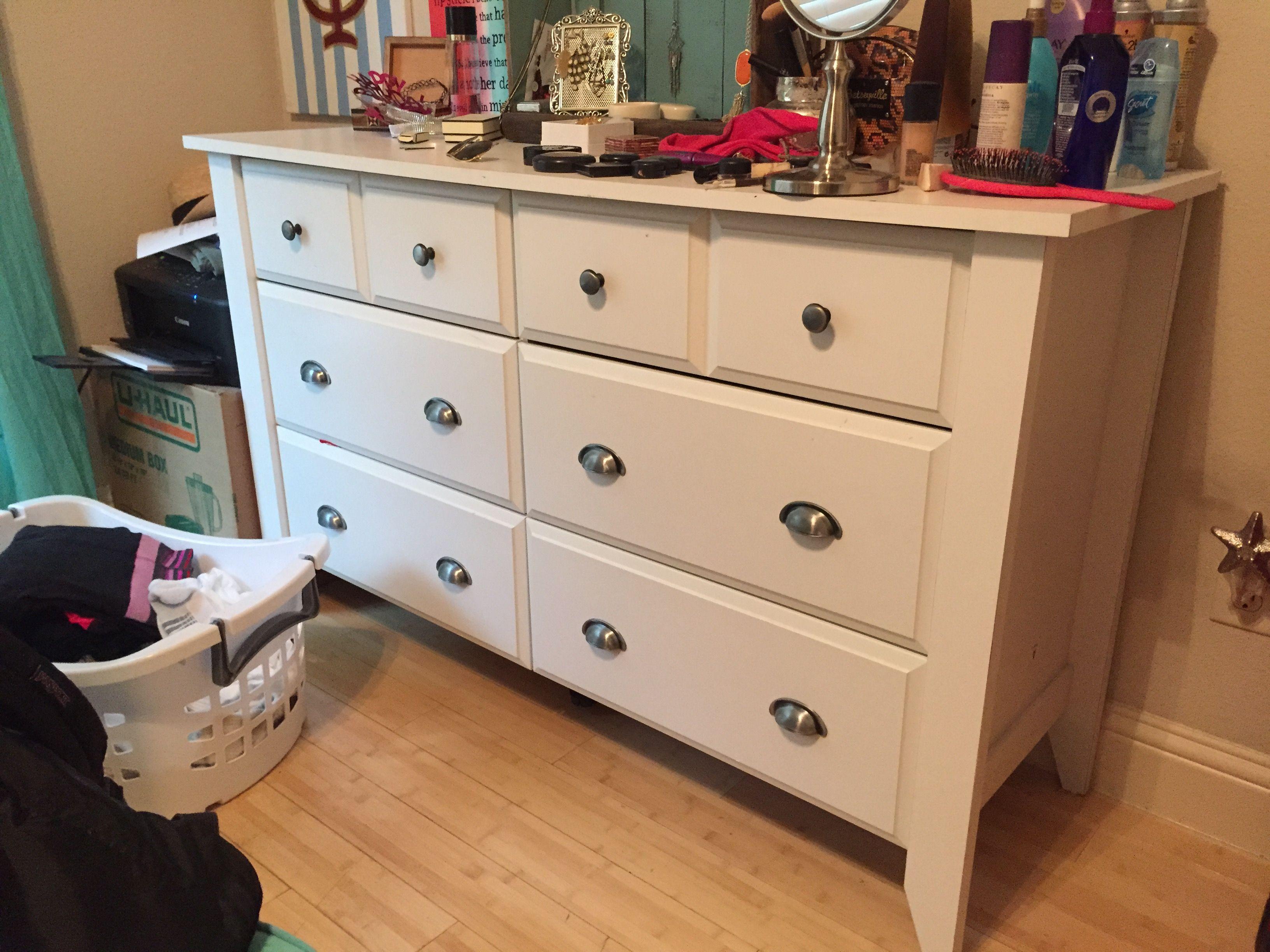 White 6 Drawer Dresser 55 X 185