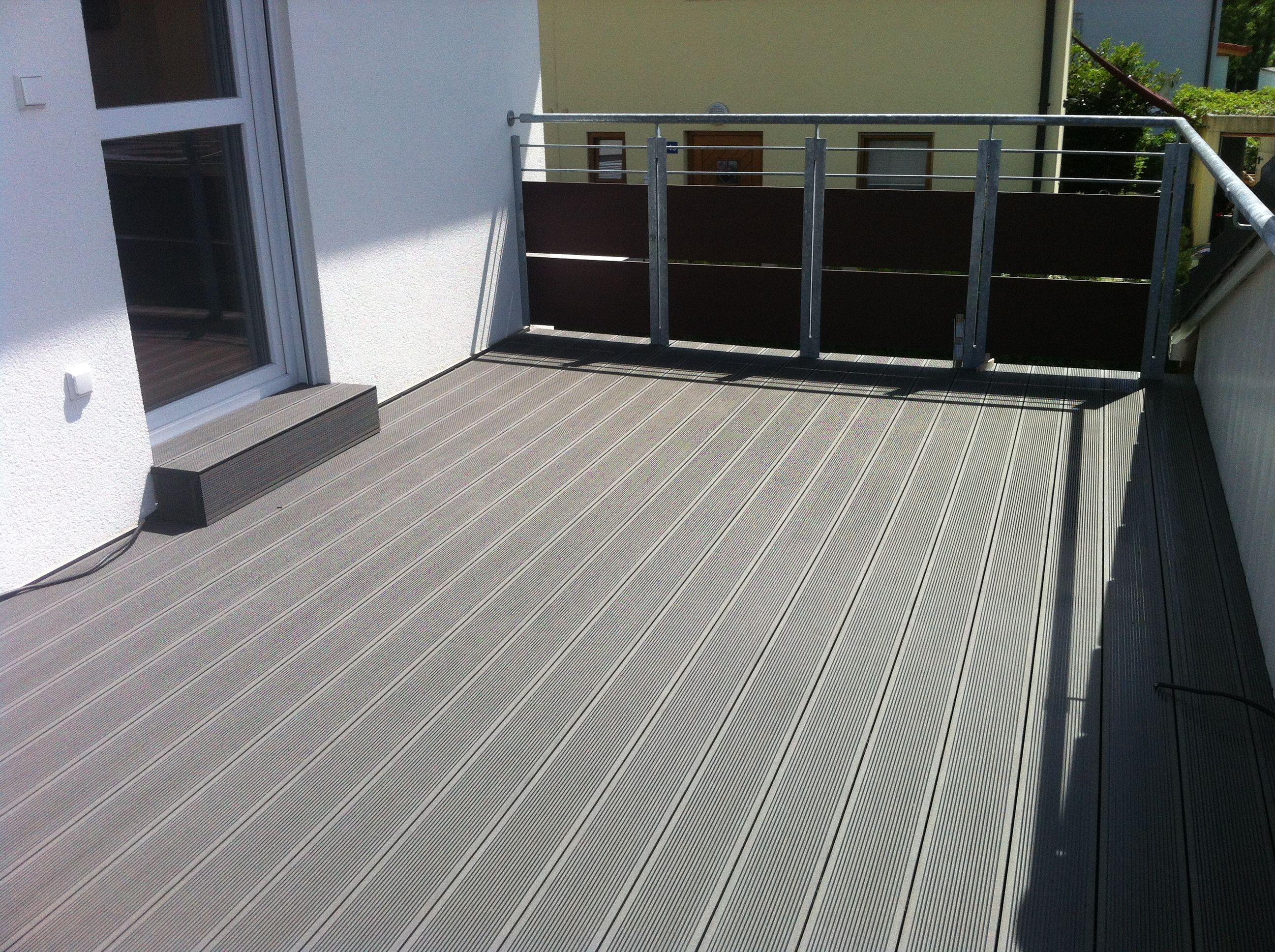 WPC Deck auf Garagendach www.ihr Parkettprofi.de   Garage dach ...