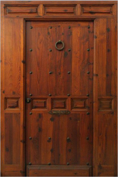 Puerta exterior cobisa puerta de acceso pinterest - Fabrica puertas madrid ...