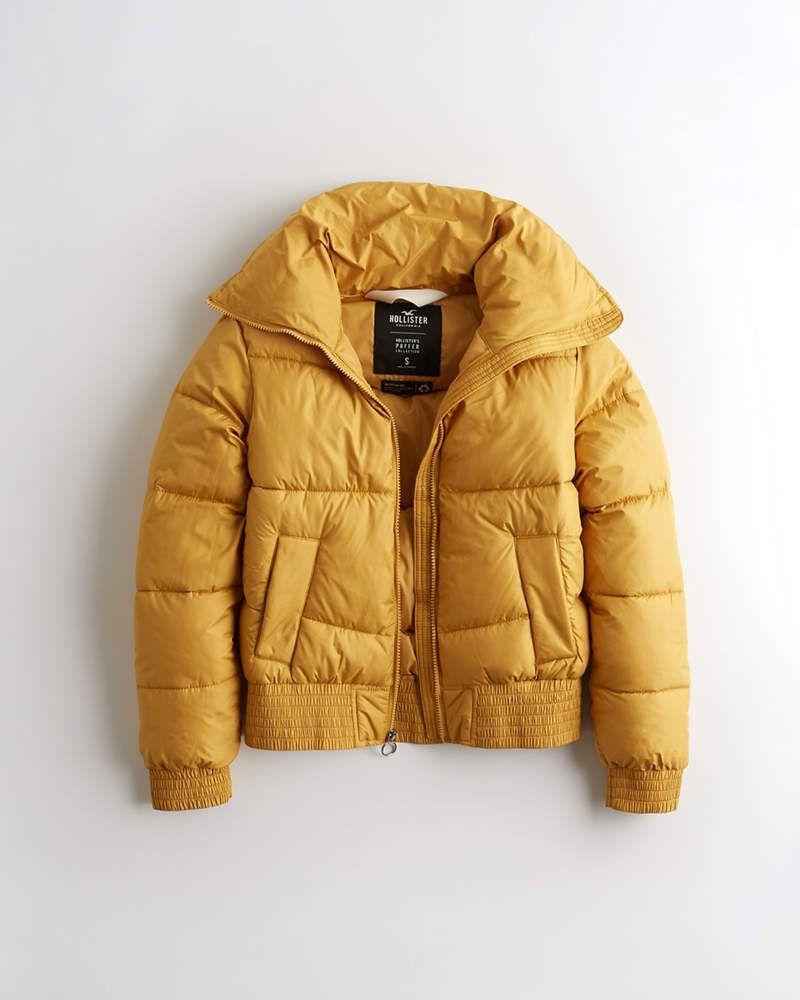 Girls Mockneck Puffer Jacket Girls Jackets Coats Hollisterco Com In 2020 Jackets Girls Jacket Winter Jackets [ 1000 x 800 Pixel ]
