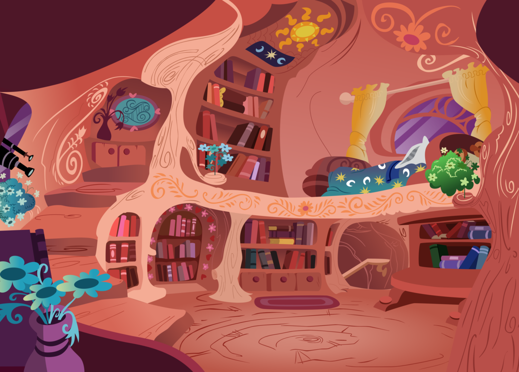 Library Upper Floors Twilight 39 S Bedroom By Daringdashie