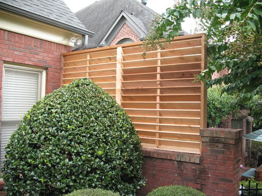 Louvered Privacy Panel By Todd Adair Lumberjocks Woodworking Community