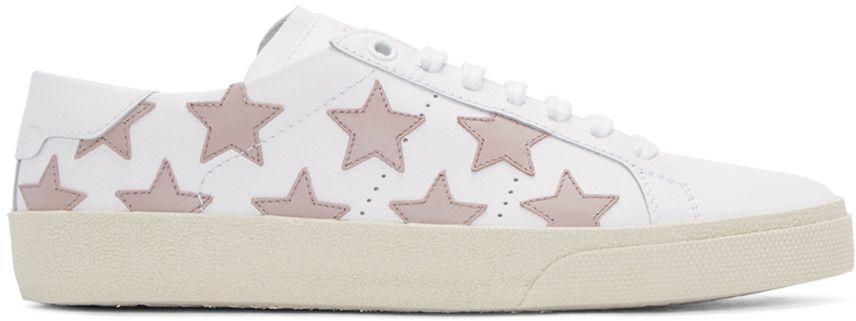 5e80ab3b8c Saint Laurent - Off-White Court Classic SL 06 California Sneakers ...