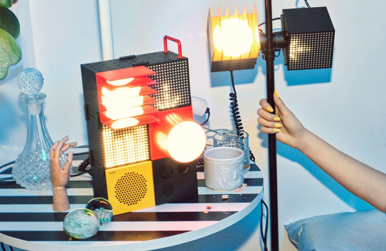 Lange Hat Es Gedauert Nun Wird Die Limitierte Kollektion Frekvens Von Ikea Und Teenage Engineering Ab Februar Erhaltlich S In 2020 Partyraum Einrichten Ikea Led Spots