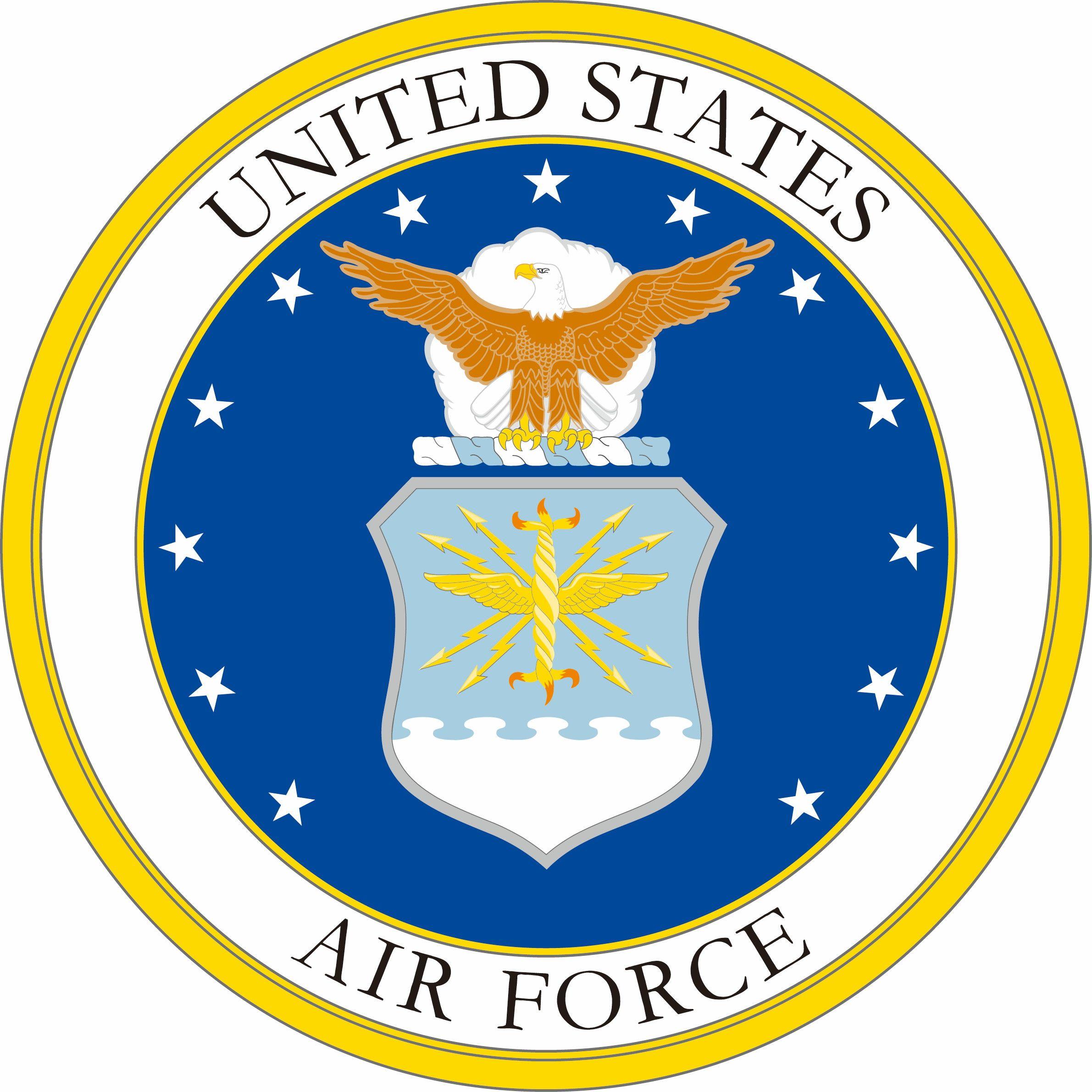 Military Air Force Fabric Emblem Custom Printed 6778