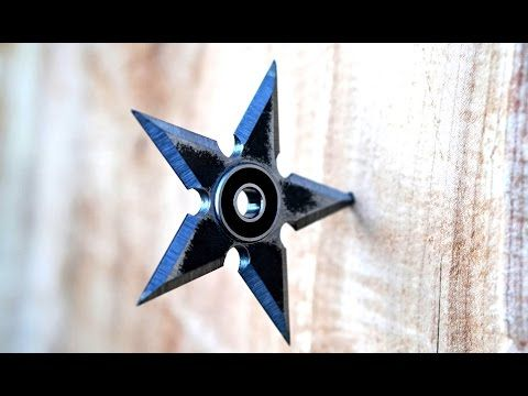 Make a Ninja Star Fid Spinner