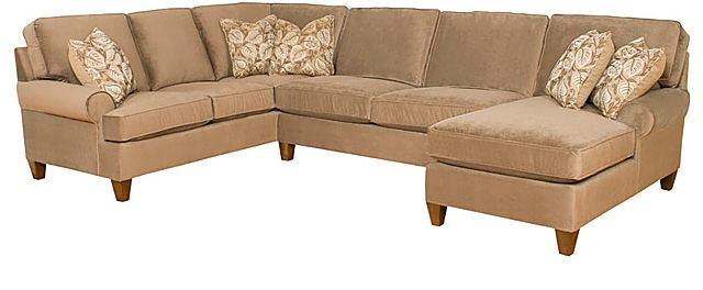 Awe Inspiring King Hickory Chatham Sectional If A Sectional Is An Option Andrewgaddart Wooden Chair Designs For Living Room Andrewgaddartcom