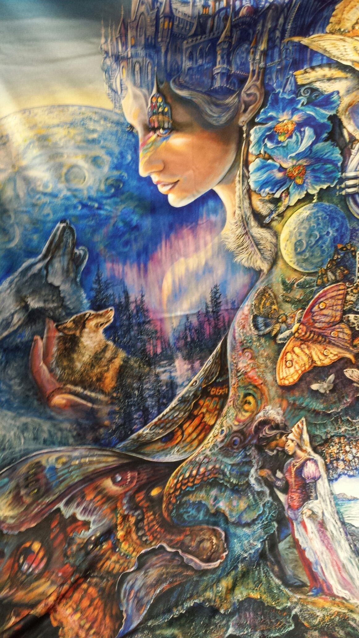 Gaia Goddess Art