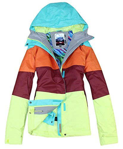 7df20d2cad APTRO Women s High Windproof Technology Colorfull Printed Ski Jacket Style   10 Size XS APTRO http