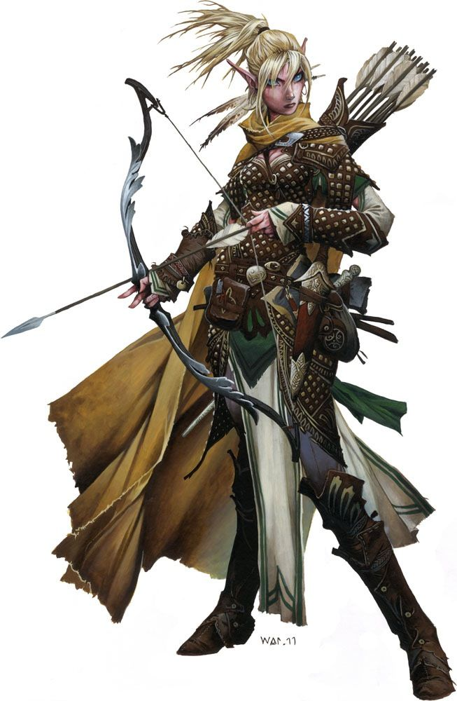 paizo pathfinder elf paladin female of the four key npcs in the jade