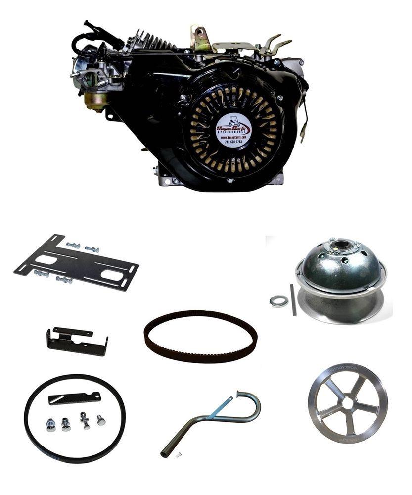460cc 25HP Golf Cart BIG BLOCK ENGINE UPGRADE KIT 85-96