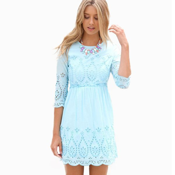 15 Latest Trends For Summer Dresses 2015 - UK Fashion #summerdress ...
