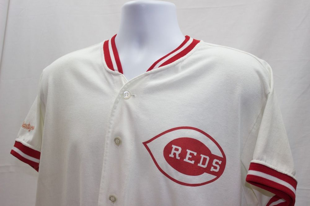 ed906536d Vintage 90s MLB Cincinnati Reds Rawlings Baseball Jersey Size XL Made In  USA   17.97 End