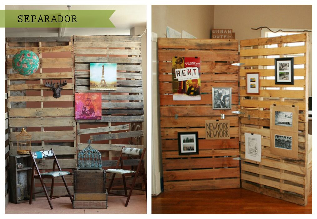 Fant sticas ideas de usos de palets en la pared bonitas for Ideas para vestir