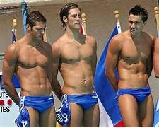 Male Physiques In Bathing Suits Guys In Speedos Athlete Man Swimming
