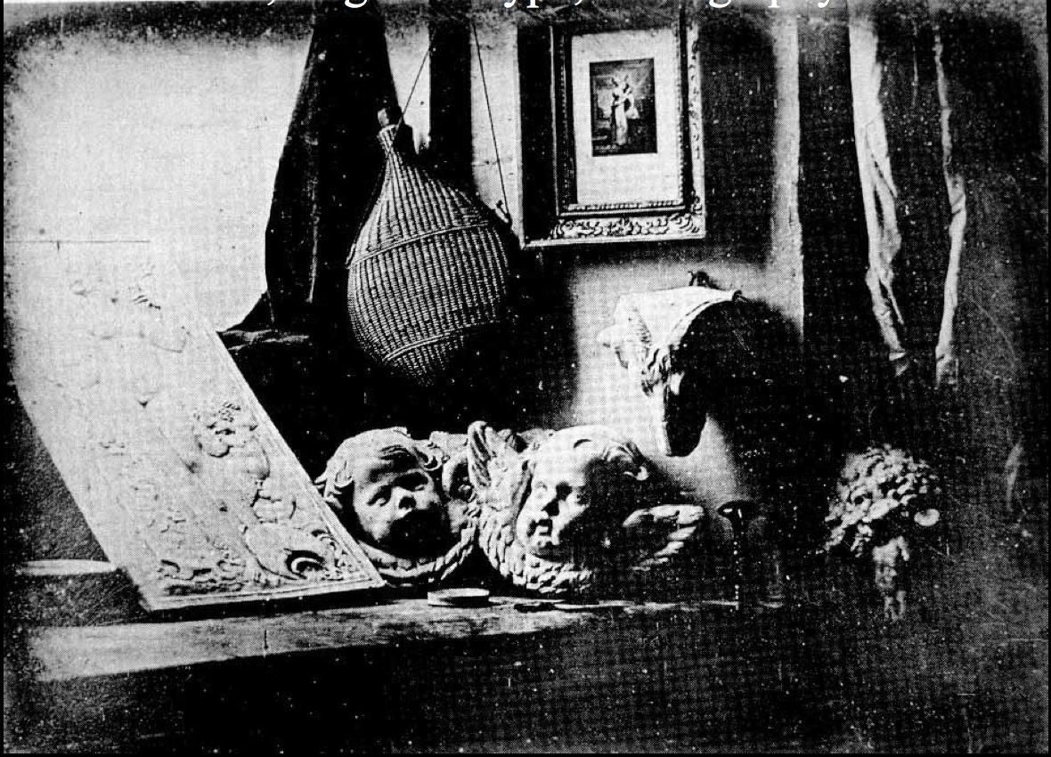 Image result for daguerre still life in studio