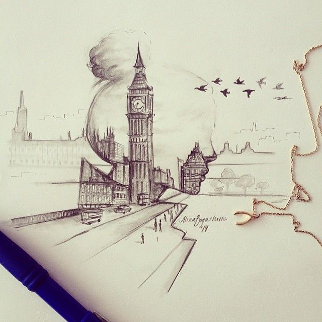 London, England. Alina Bogachuk. Follow her on Instagram: leiartista