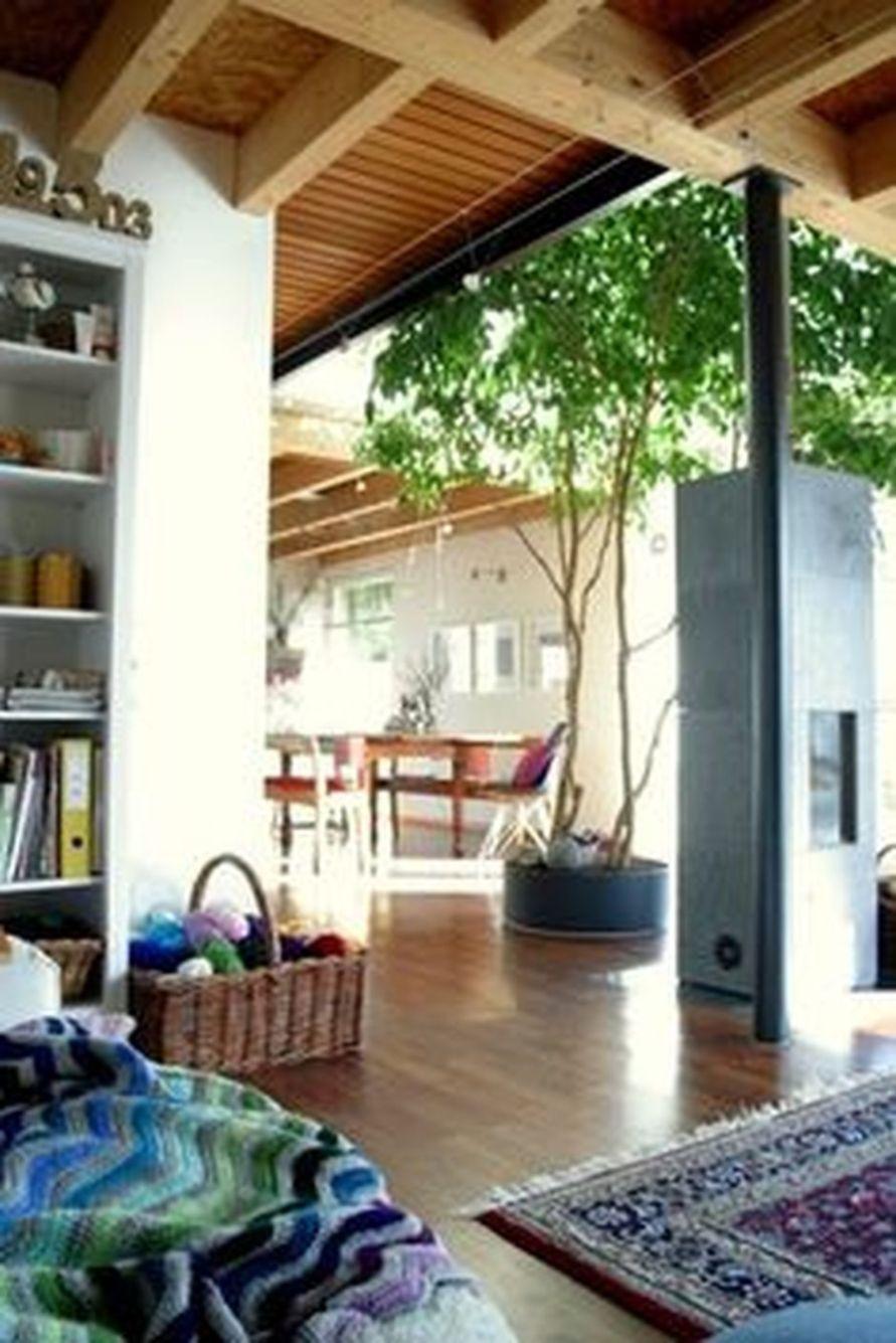 Amazing Artistic Tree Inside House Interior Design 9 Interior