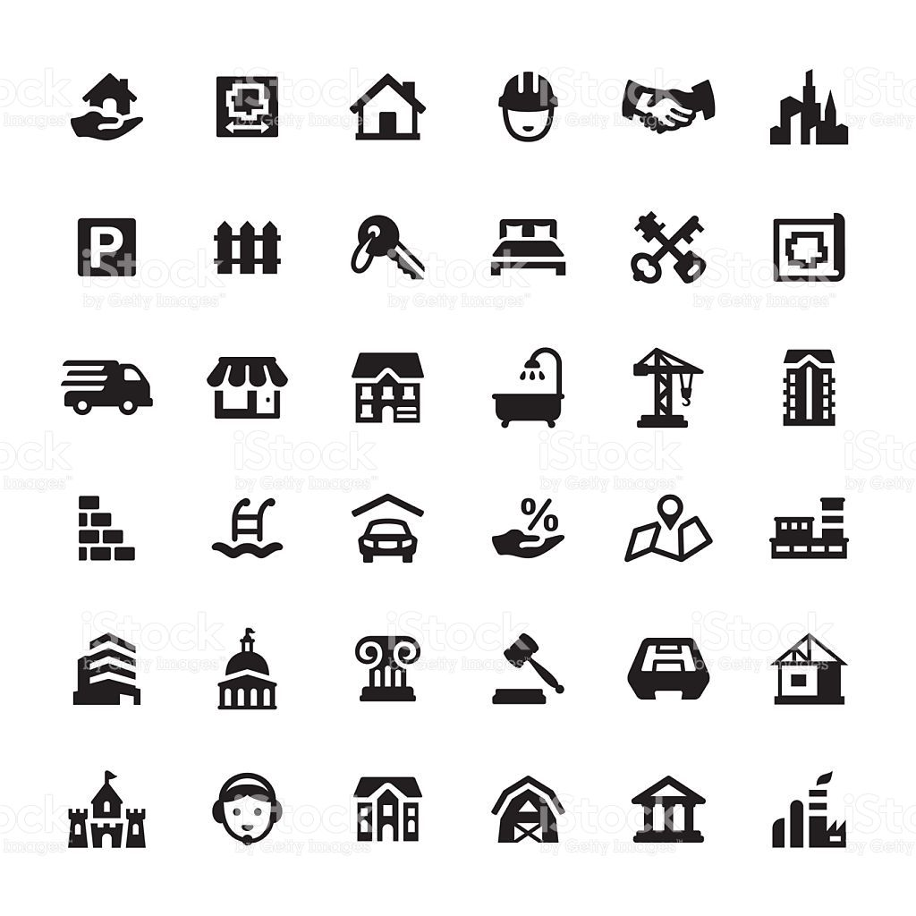 Real Estate And Property Icons Real Estate Icons Icon Real Estate