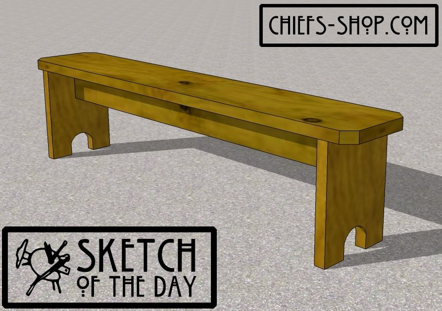 Sketch Of The Day Picnic Bench Picnic Bench Bench Plans Play Houses