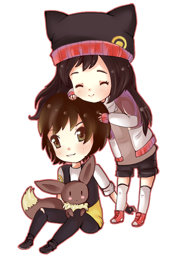 .Chibi couple. by CuteMurder on deviantART Cute anime