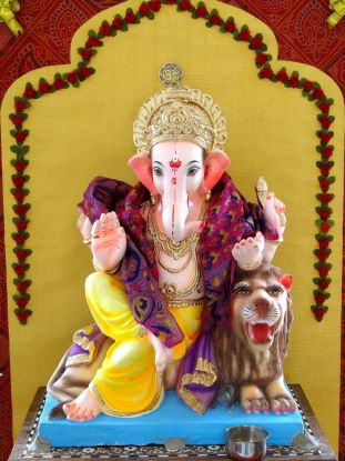 Ganesh Chaturthi celebrations in Mumbai #festivals #culture #recipes #India #Hinduism