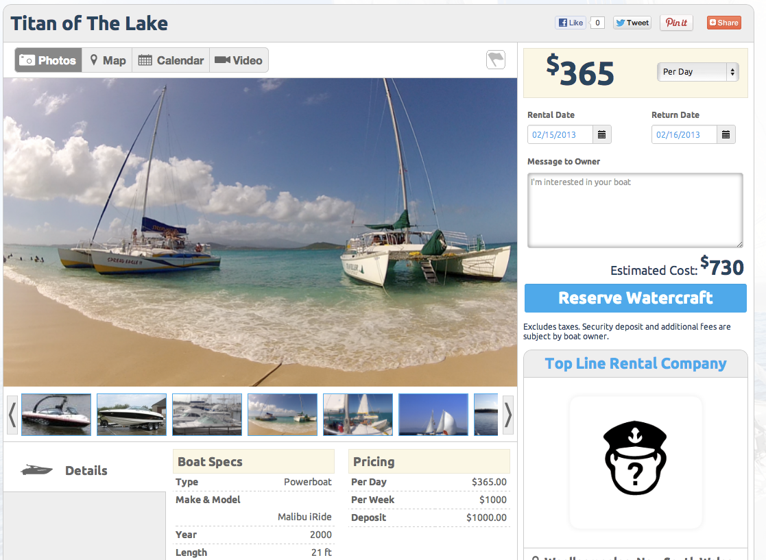 Adding Your Boat to GetMyBoat Just Became Even Easier.
