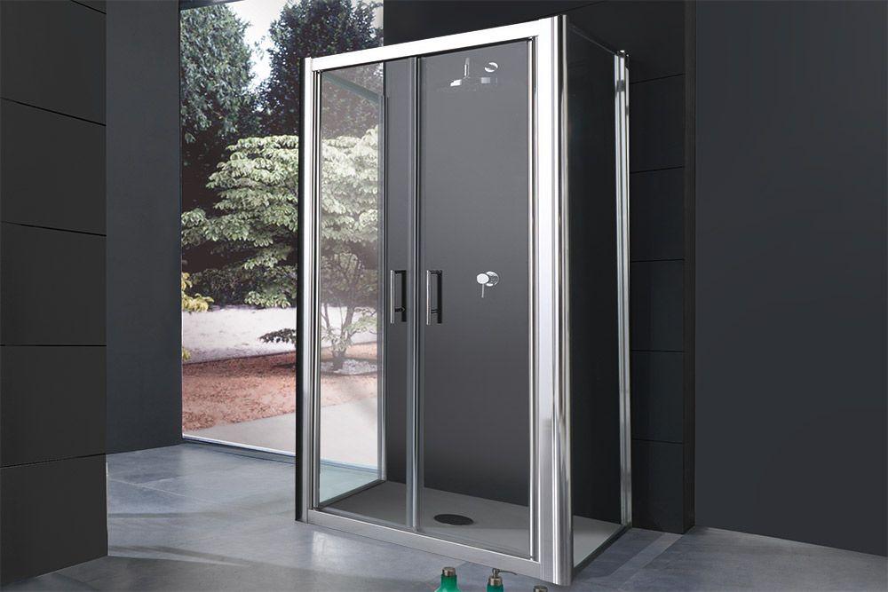 FREE Box doccia con porta saloon apertura interna ed