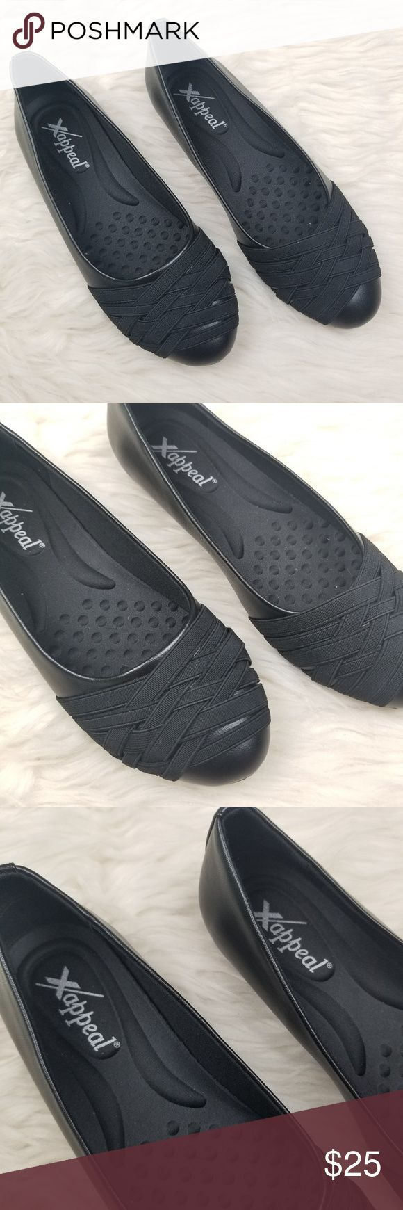 Xappeal Black Flats New Without tags Xappeal Black Flats New Without tags Super  Xappeal Black Flats New Without tags Xappeal Black Flats New Without tags Super