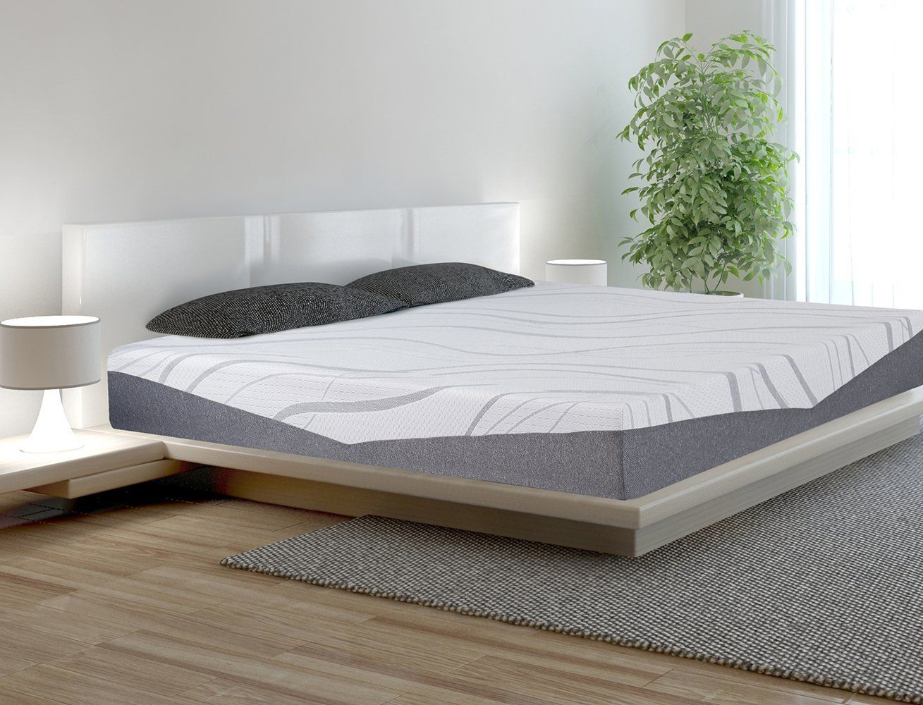 sleeplace 10 inch ultra comfort multi layer memory foam mattress