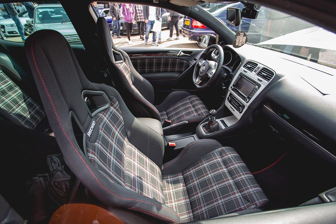 Air Lift At Players Show 2014 Recaro Car Seats Volkswagen Golf Mk2