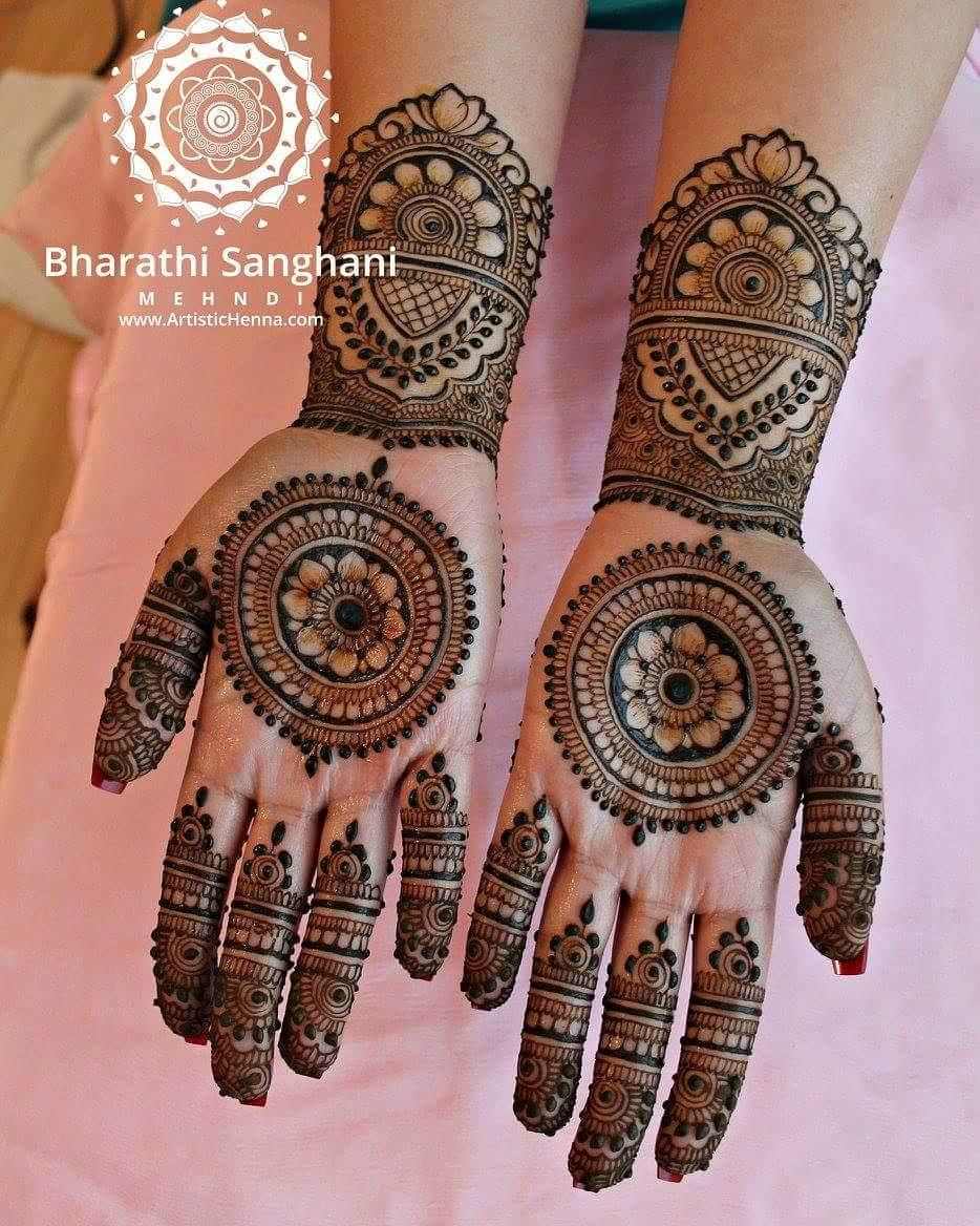 Classic henna mehandi designs for your beautiful hands