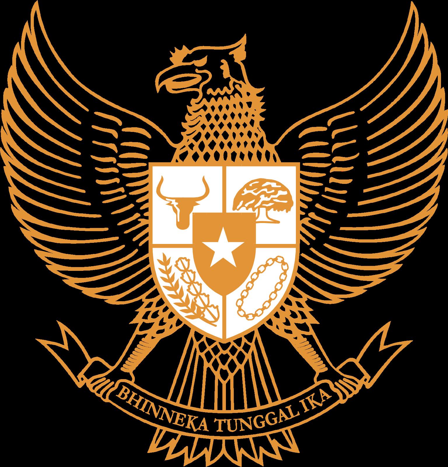 Logo Garuda Pancasila Vector Download CDR Dengan Gambar