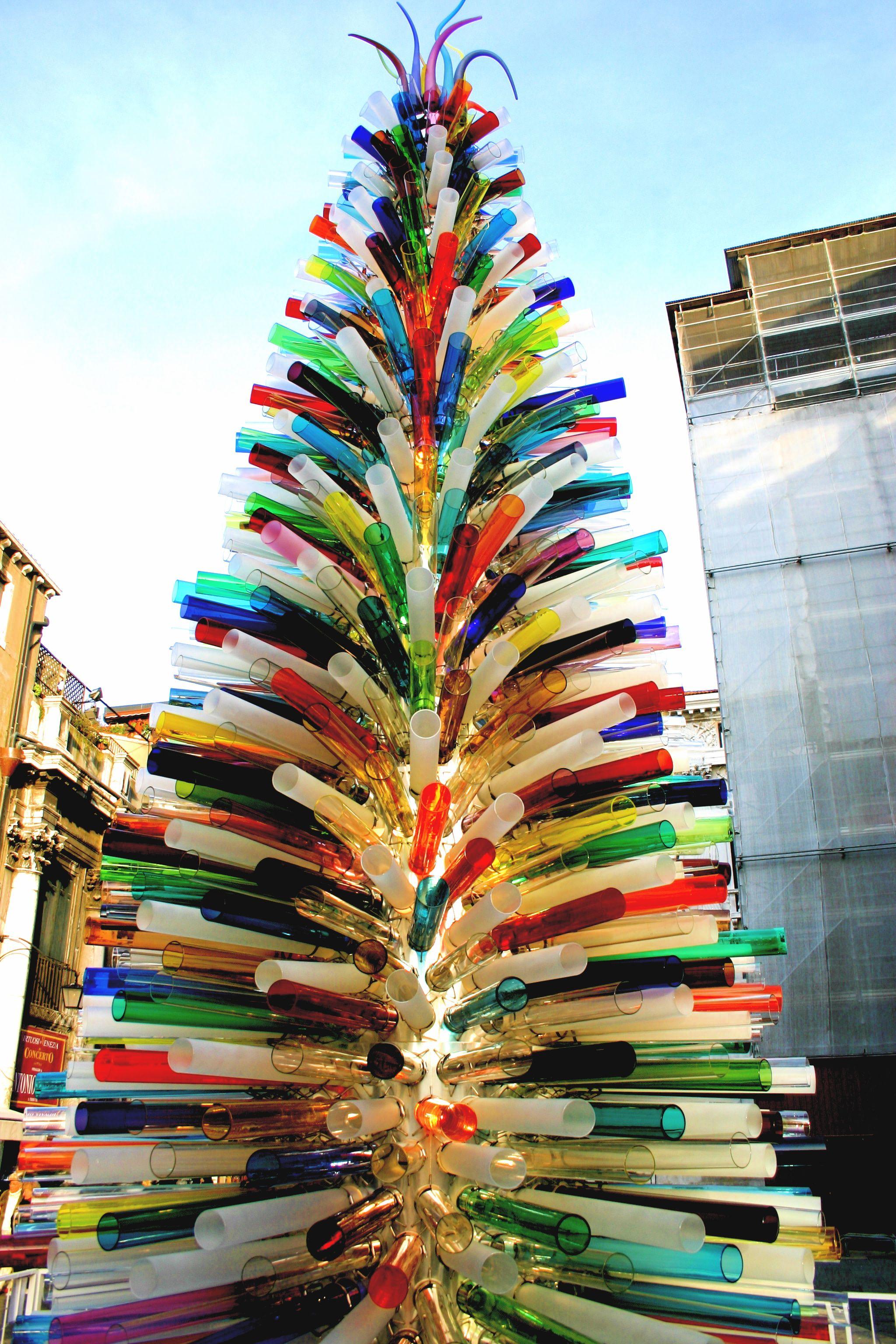 The Murano Glass Christmas Tree, Venice, Italy | Glass | Pinterest ...
