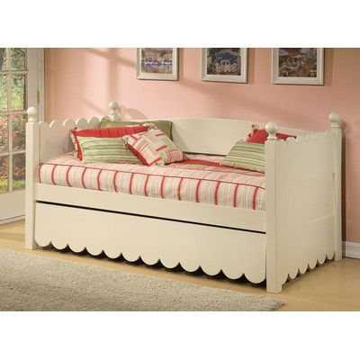 Alligator Scallop Daybed with Pop-Up Trundle Finish Products