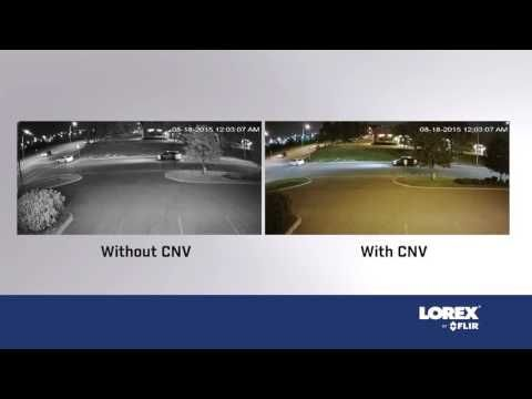 Lorex security camera night vision vs color night vision