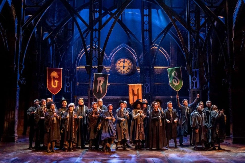 Yesss Hogwarts House Pride Is In Full Force Harry Potter Cursed Child Harry Potter Play Harry Potter Theatre