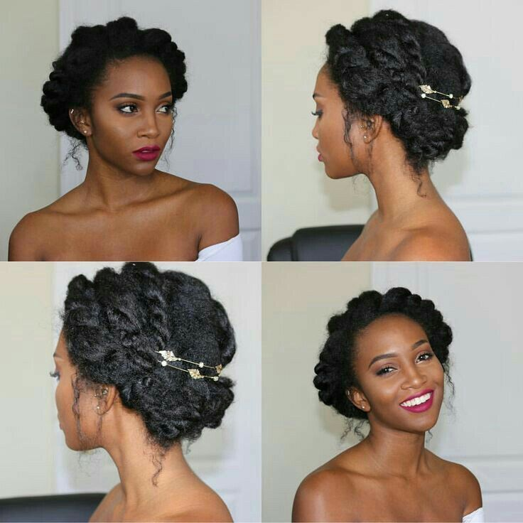 Pin By Cathreen Benny On Black Hair Natural Hair Updo Curly Hair Styles Natural Hair Styles