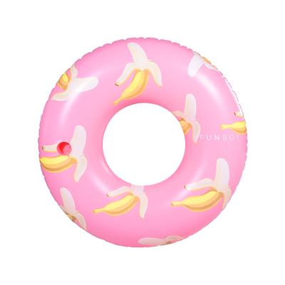 Pink Banana Tube Float Pool Tube Summer Pool Floats Pool Floats