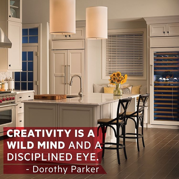 Monday Motivation: Let your creativity run free with the many options of Monark Home appliances.