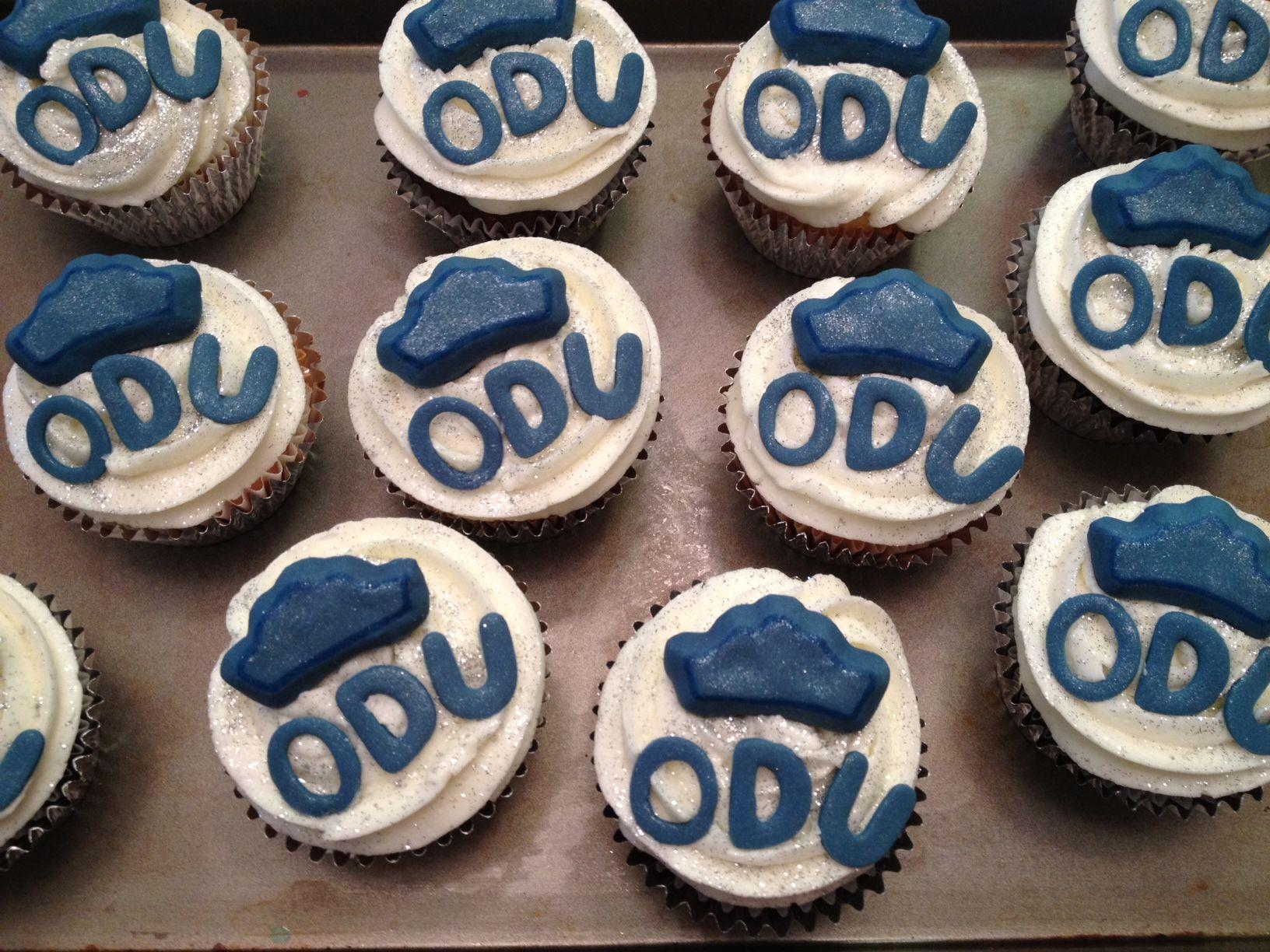ODU graduation | Cupcakes | Pinterest