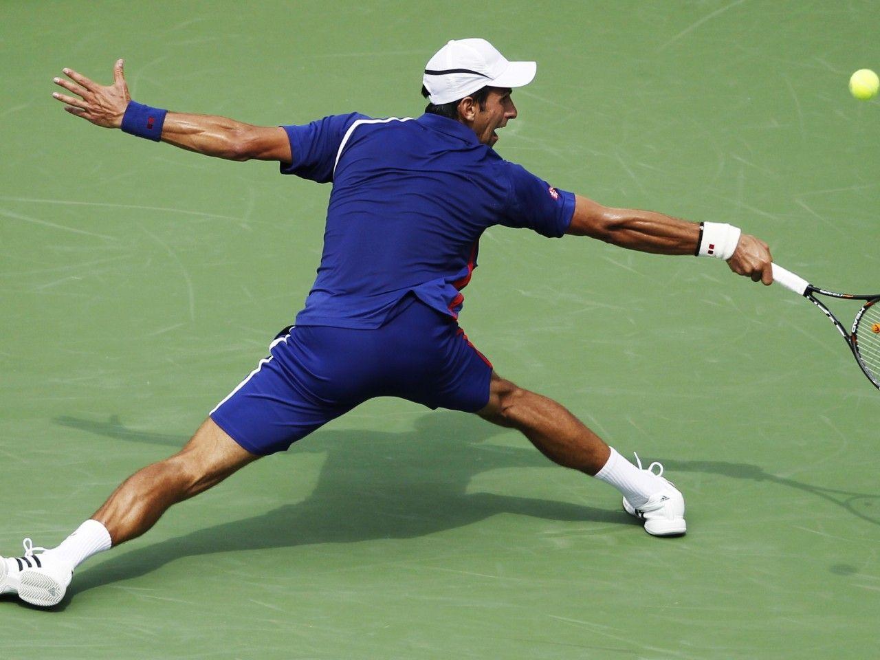 Long Arm Shot Of Tennis Tennis USOpen Championship